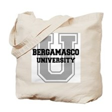 Bergamasco UNIVERSITY Tote Bag