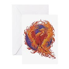 Phoenix Greeting Cards (Pk of 10)