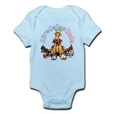 Airedales Rule Infant Bodysuit