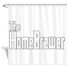The HomeBrewer Shower Curtain