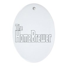 The HomeBrewer Ornament (Oval)