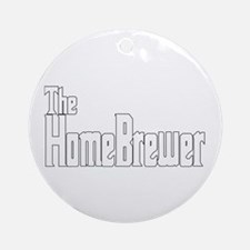 The HomeBrewer Ornament (Round)