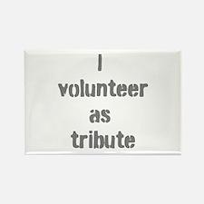 Volunteer as Tribute Rectangle Magnet