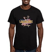 lacrosse2blk T-Shirt