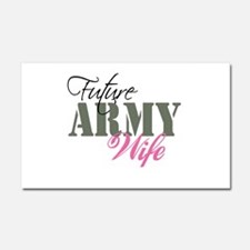 Future Army Wives Car Magnet 20 x 12