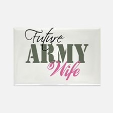 Future Army Wives Rectangle Magnet