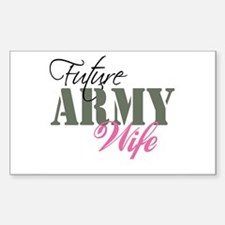 Future Army Wives Decal