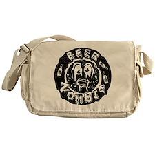 Beer Zombie Messenger Bag