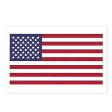 US Flag Postcards (Package of 8)