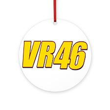 VR46Line Ornament (Round)