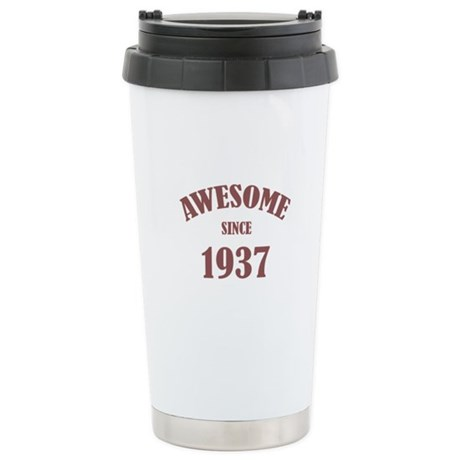 Awesome Since 1937 Stainless Steel Travel Mug