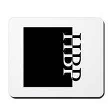 HBP Typography Mousepad