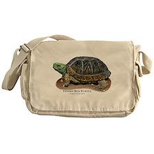 Desert Box Turtle Messenger Bag