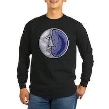 Crescent Moon Long Sleeve T-Shirt