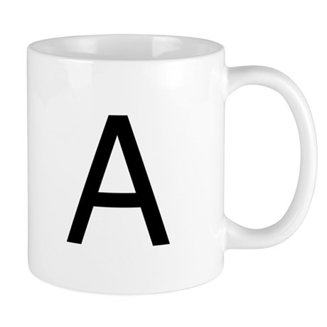 The Letter A. Mug