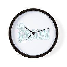 Groom Extravaganza Wall Clock