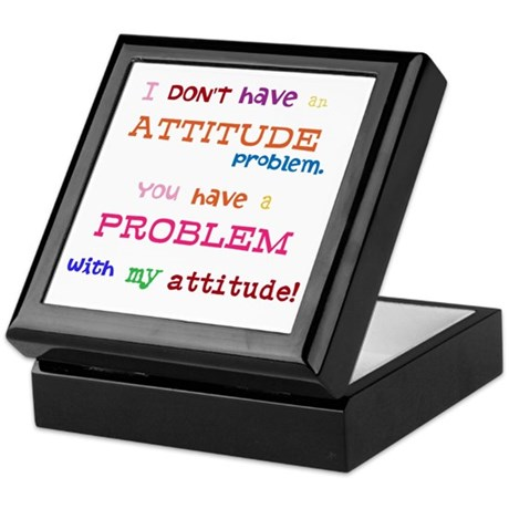 Attitude Keepsake Box