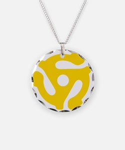 45 Record Vinyl Adapter Necklace