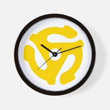 45 Record Vinyl Adapter Wall Clock
