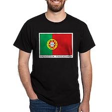 Portugal Black T-Shirt
