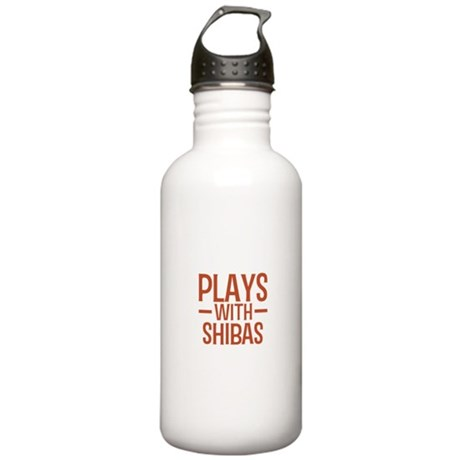 PLAYS Shibas Stainless Water Bottle 1.0L
