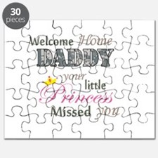 Welcome Home Daddy (Princess) Puzzle