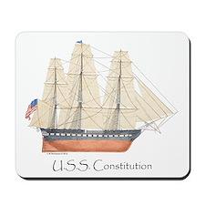 U.S.S. Constitution Mousepad