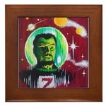 SPACEMAN Z Framed Tile