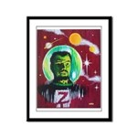SPACEMAN Z Framed Panel Print