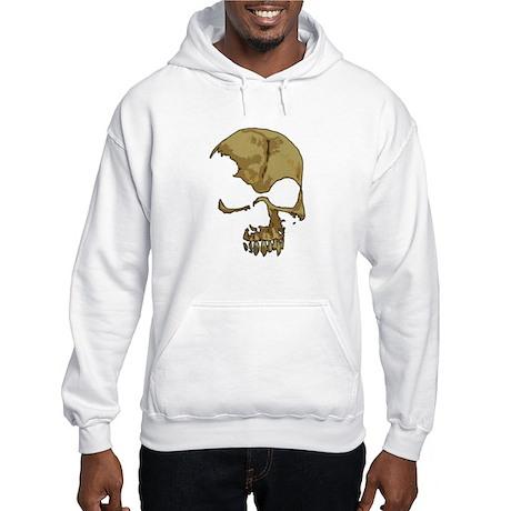 Comic Skull Hooded Sweatshirt