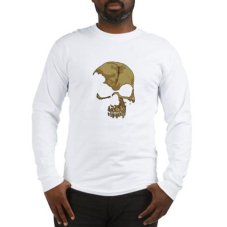 Comic Skull Long Sleeve T-Shirt