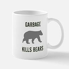 Garbage Kills Bears Mug