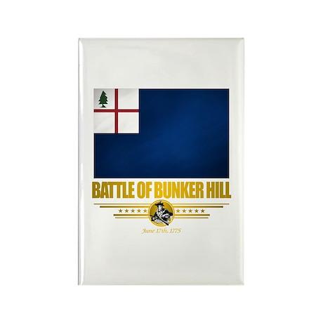"""Battle of Bunker Hill"" Rectangle Magnet (10 pack)"