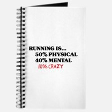 Running is... 50% Physical, 4 Journal
