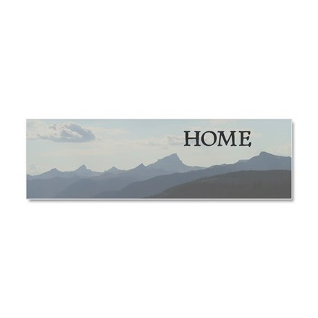 Mountains Car Magnet 10 x 3