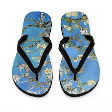 Van Gogh - Almond Blossom Flip Flops