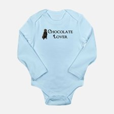 Chocolate Lover Long Sleeve Infant Bodysuit