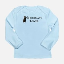 Chocolate Lover Long Sleeve Infant T-Shirt