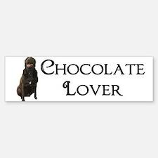Chocolate Lover Bumper Bumper Sticker