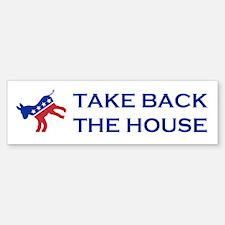 Take Back The House Car Car Sticker
