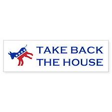 Take Back The House Car Sticker