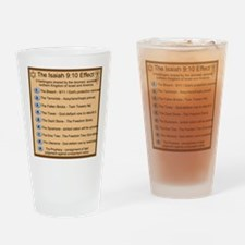 9 Harbingers Drinking Glass
