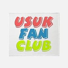USUK Fan Club Throw Blanket