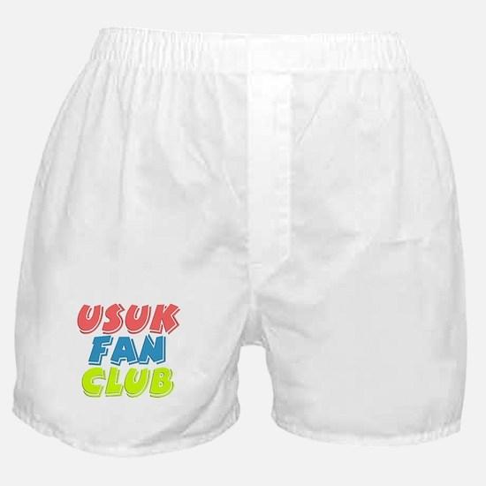 USUK Fan Club Boxer Shorts