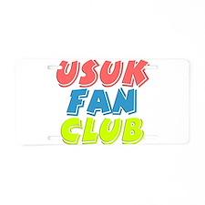 USUK Fan Club Aluminum License Plate