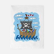 Pirate Ship Twin Duvet