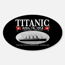 Titanic Ghost Ship (black) Decal