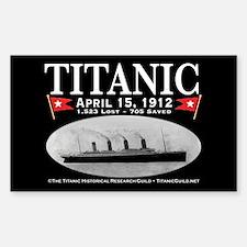 Titanic Ghost Ship (black) Decal