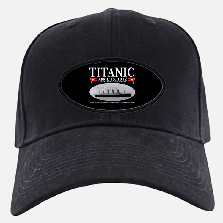 Titanic Ghost Ship (black) Baseball Hat