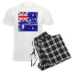 Vintage Australian Flag Men's Light Pajamas